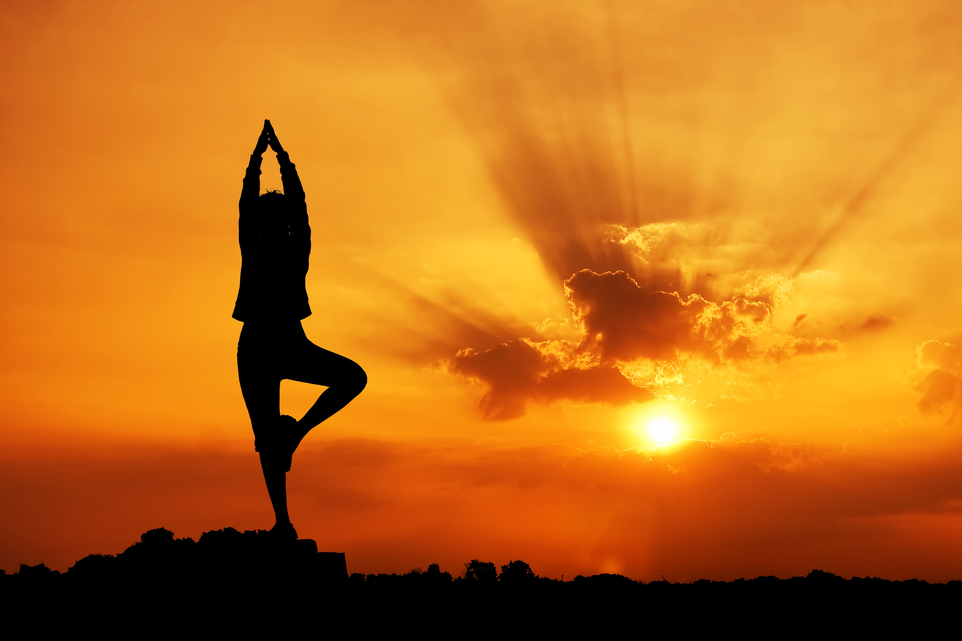 yoga-sun-background